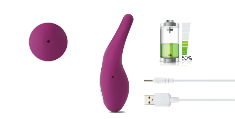 Rechargeable penis ring